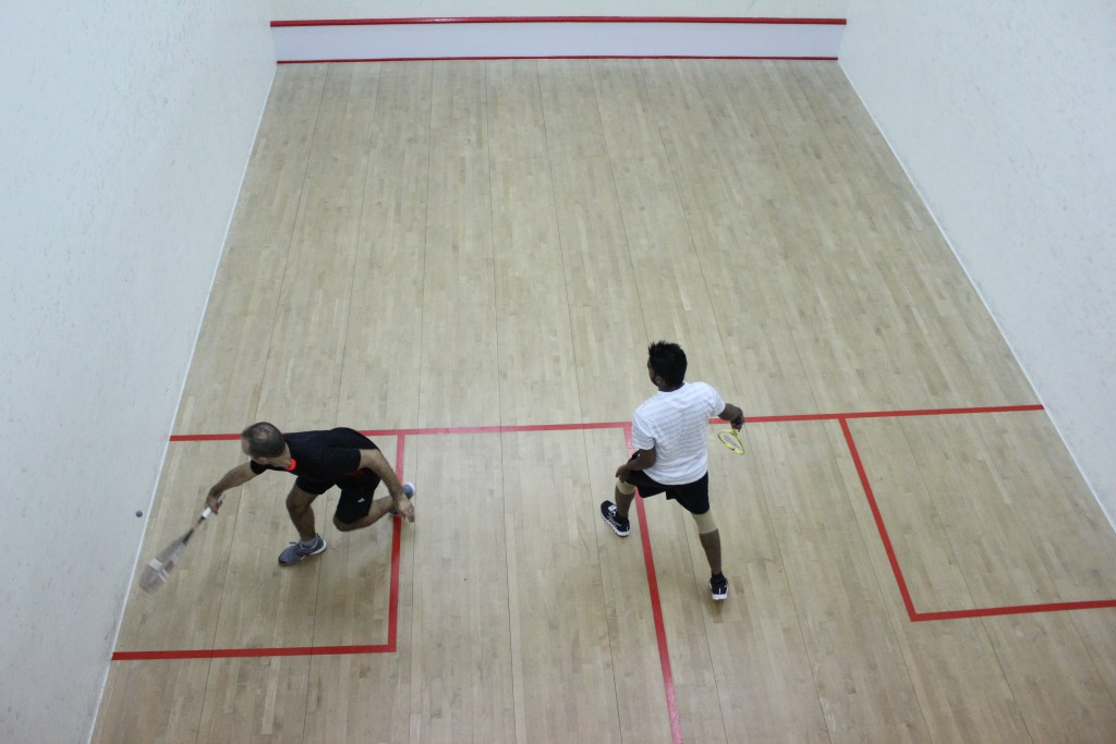 "On the ""T"" - Blog about Squash"