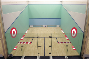 the serve in squash - where to target