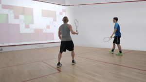 Interactive Squash - iSquash - in action