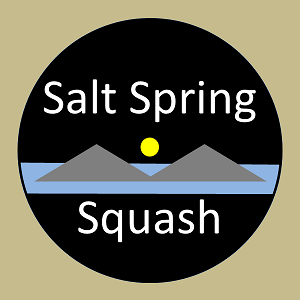 logo for Salt Spring Squash Club