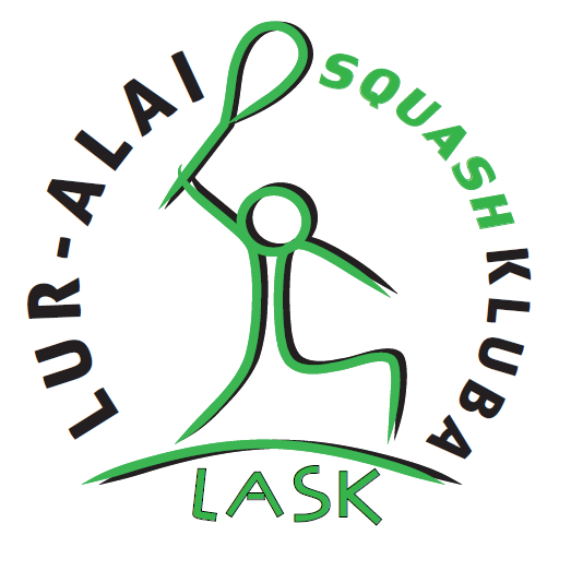 logo for LUR-ALAI SQUASH KLUBA