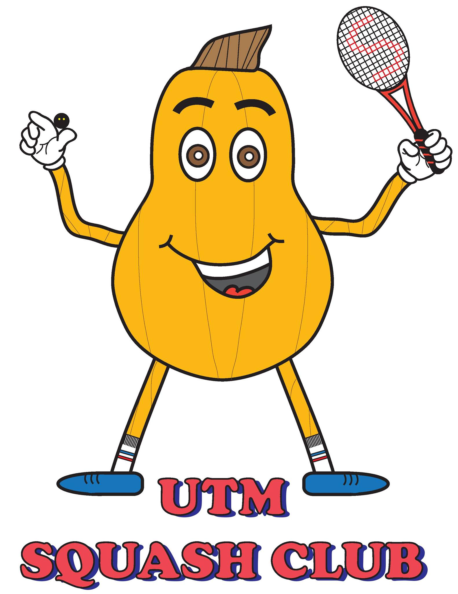 logo for UTM Squash Club