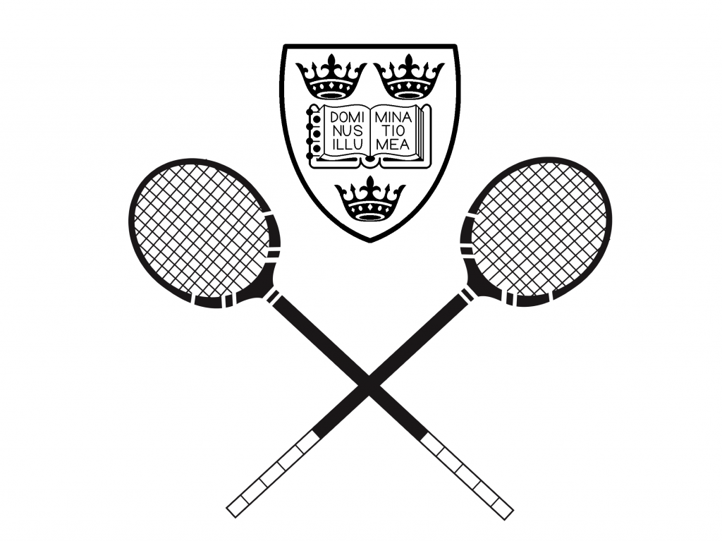 logo for OUSRC - Oxford University Squash Racquets Club