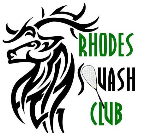 logo for Rhodes Squash Club