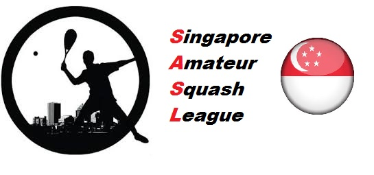 logo for Singapore Amateur Squash League