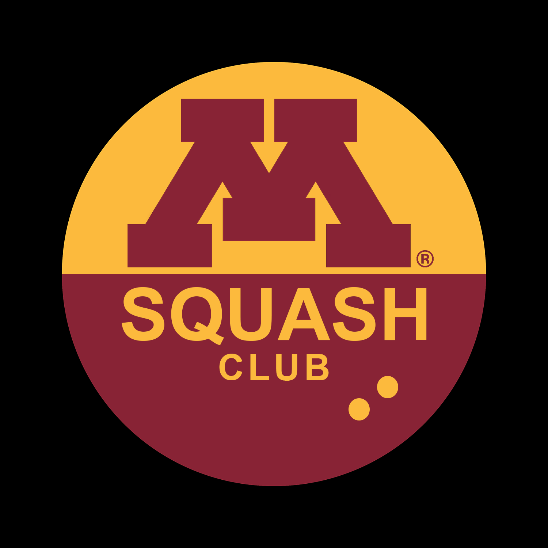 logo for UMN Squash Club