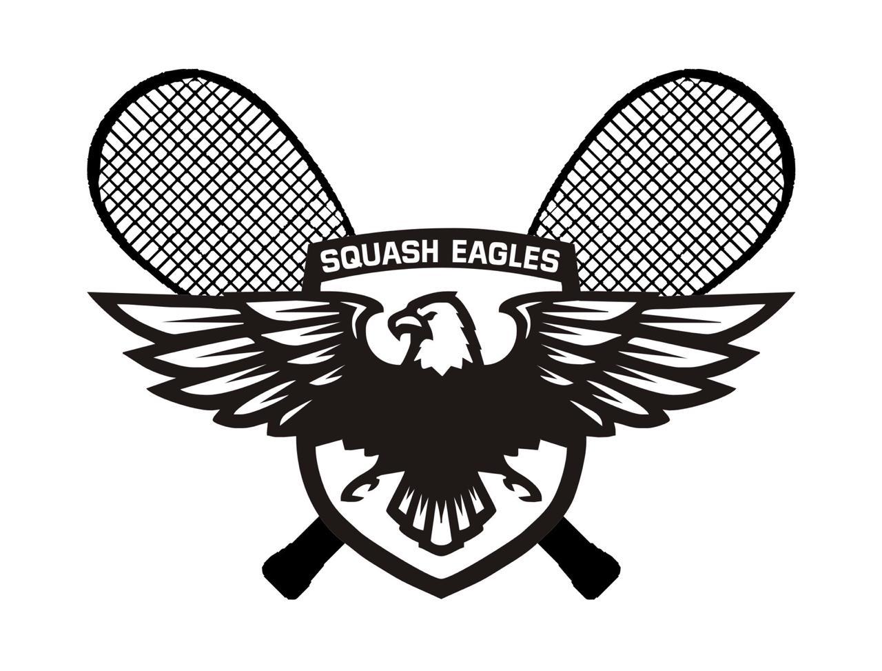 logo for Squash Eagles