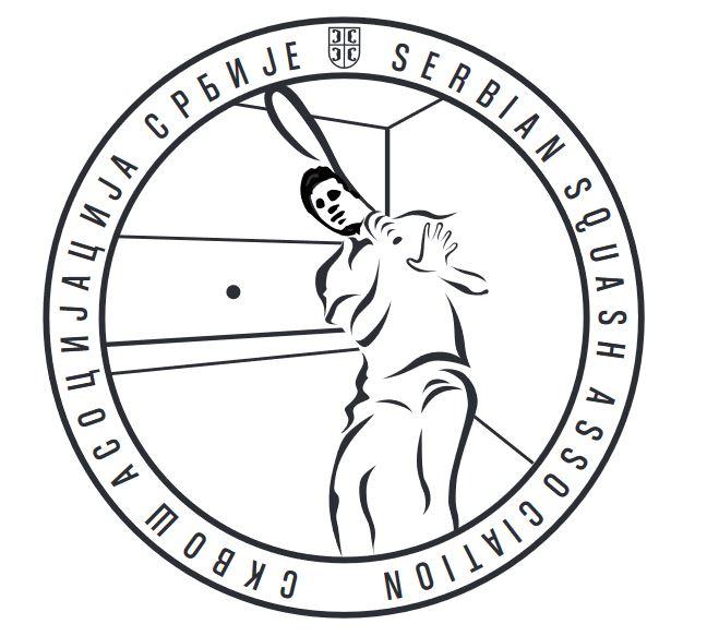 logo for Serbian Squash Association