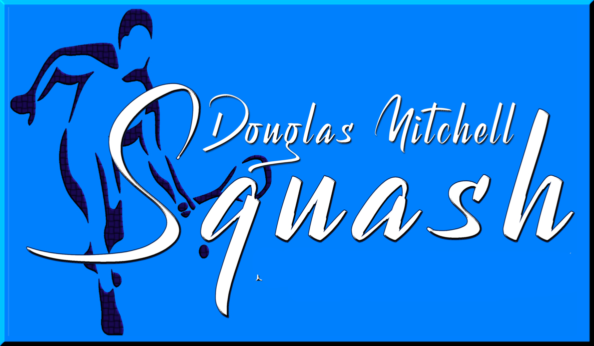 logo for Douglas Mitchell Squash Club