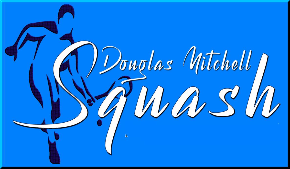 logo for Douglas Mitchell Squash Club